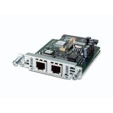 Модули сетевые Модуль Cisco Two-Port Voice Interface Card- FXS and DID, производитель Cisco Systems, Inc. (США) - фото №1
